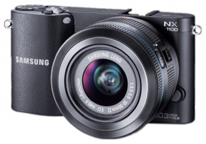 Samsung NX1100 — камера для соцсетей
