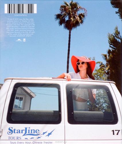 Эксклюзивная версия альбома Lana del Rey Honeymoon на Ozon.ru