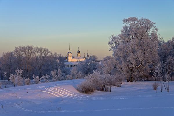 Пять мест России, которым идёт зима