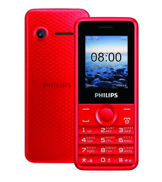Новый мобильный телефон Philips Xenium E103